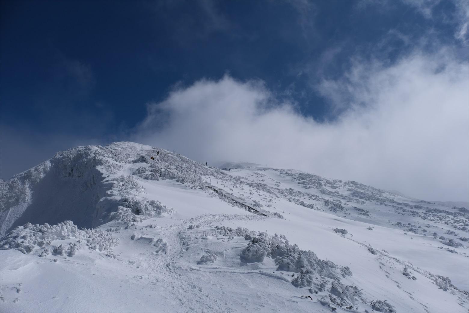 【残雪期・雪山登山】伯耆大山 (24)