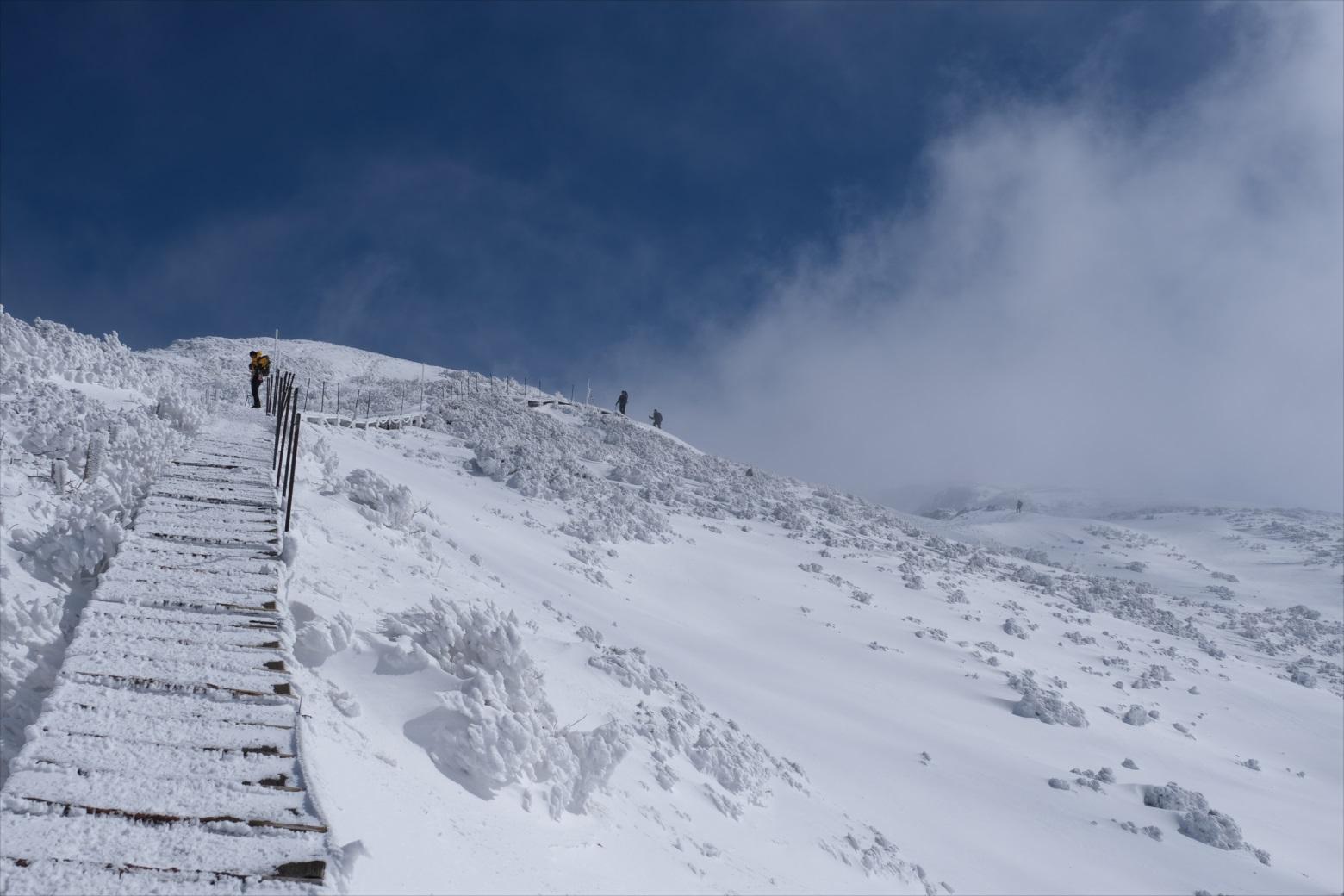 【残雪期・雪山登山】伯耆大山 (25)