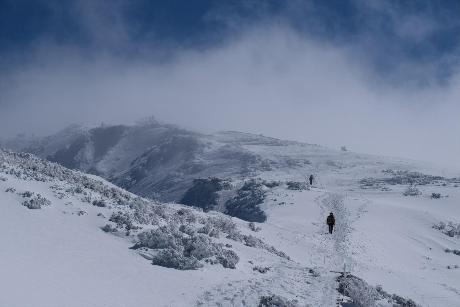 【残雪期・雪山登山】伯耆大山 (26)