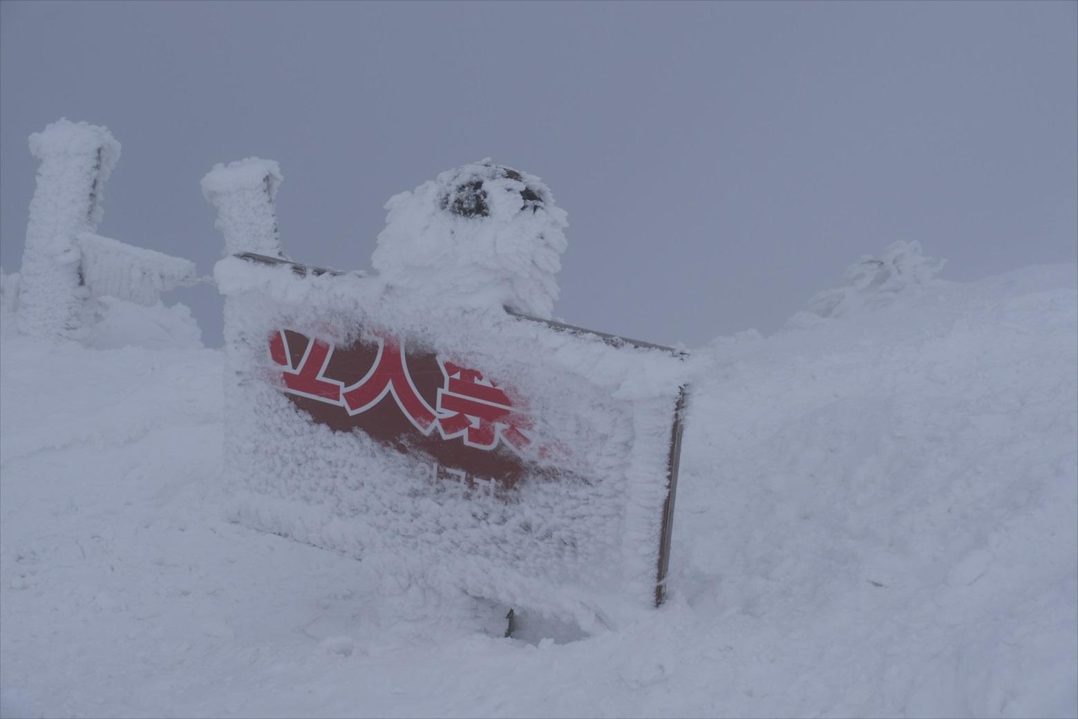 【残雪期・雪山登山】伯耆大山 (30)