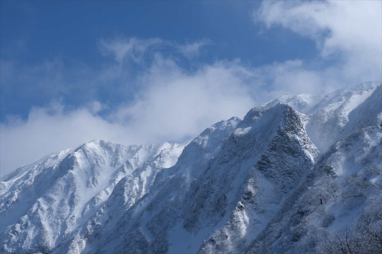 【残雪期・雪山登山】伯耆大山 (33)