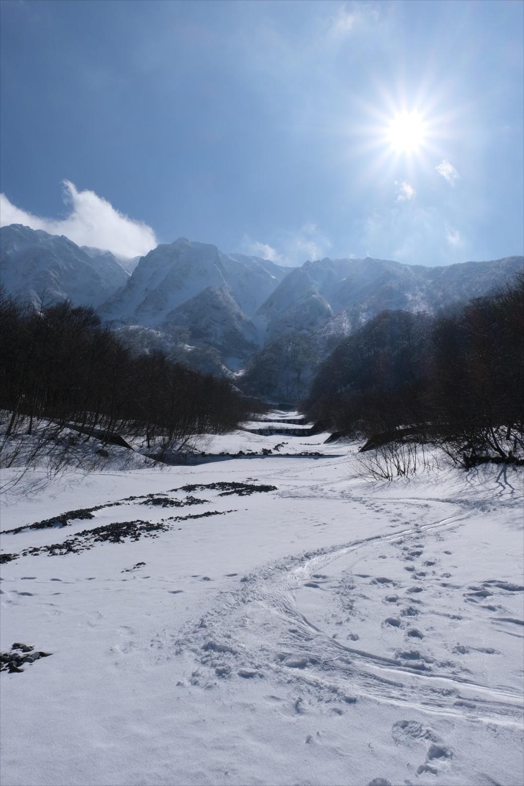 【残雪期・雪山登山】伯耆大山 (38)