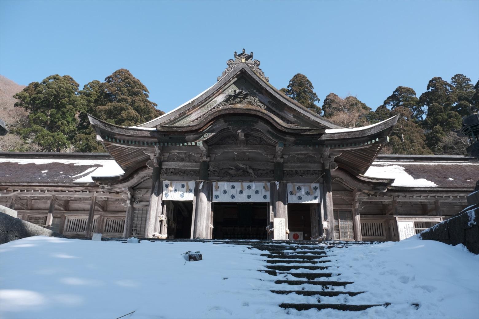 【残雪期・雪山登山】伯耆大山 (51)