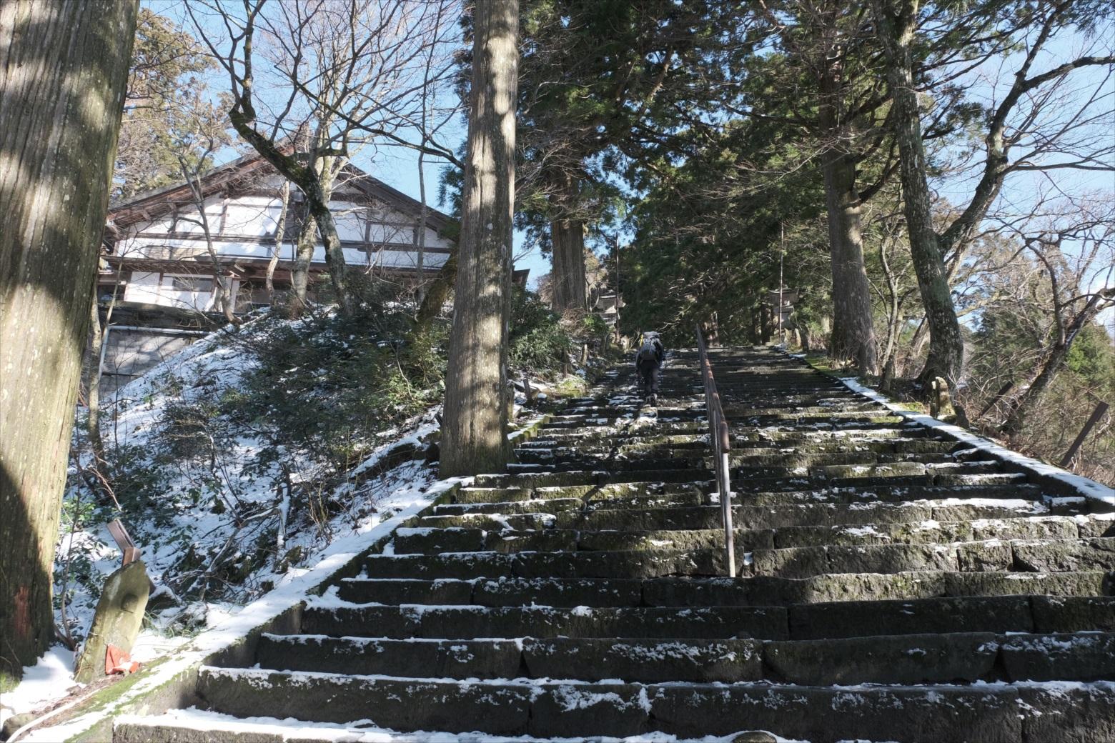 【残雪期・雪山登山】伯耆大山 (55)