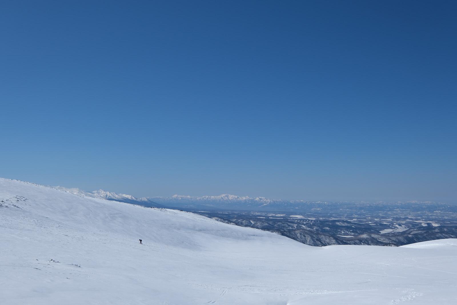 【残雪期・雪山登山】旭岳 (26)