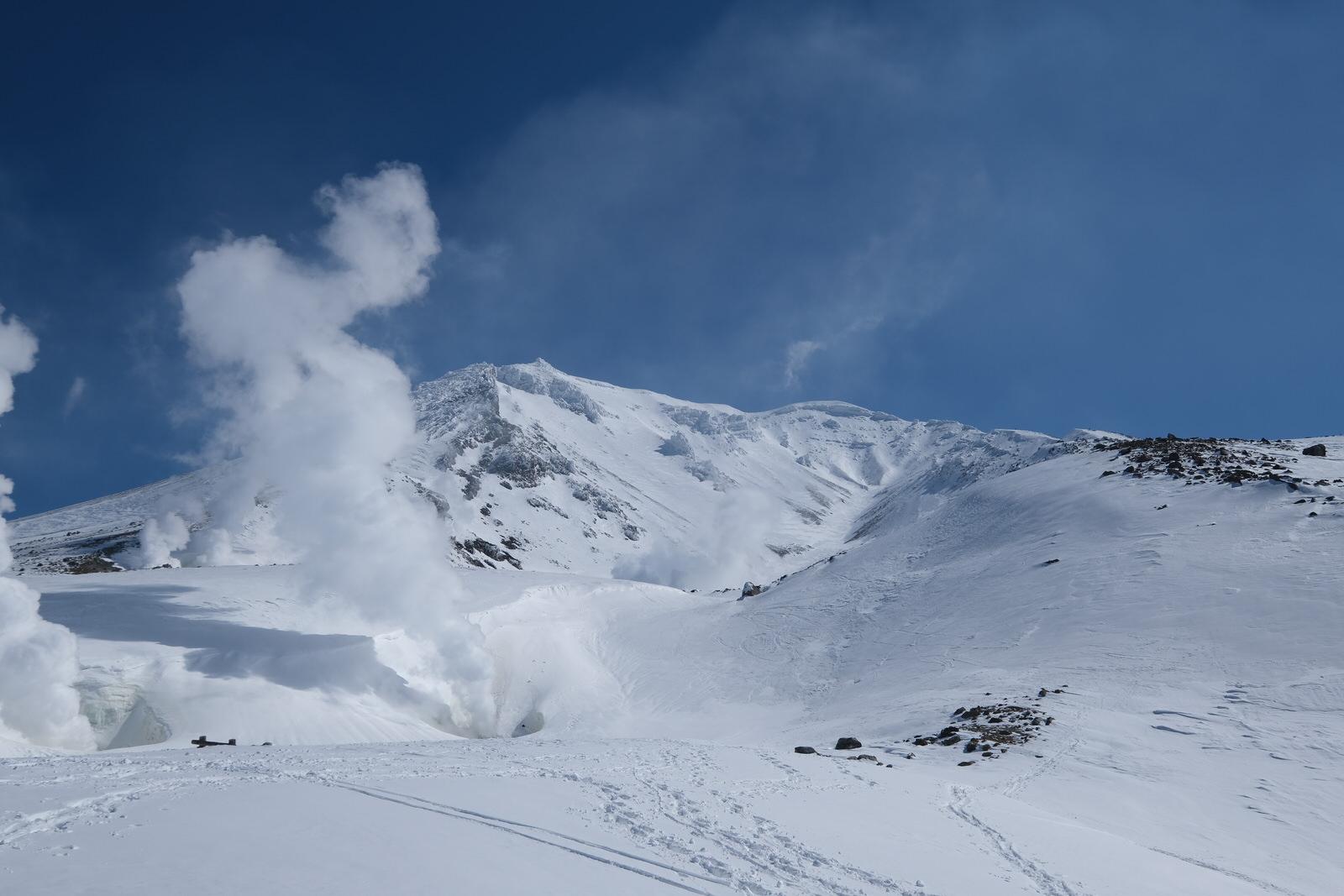 【残雪期・雪山登山】旭岳 (27)