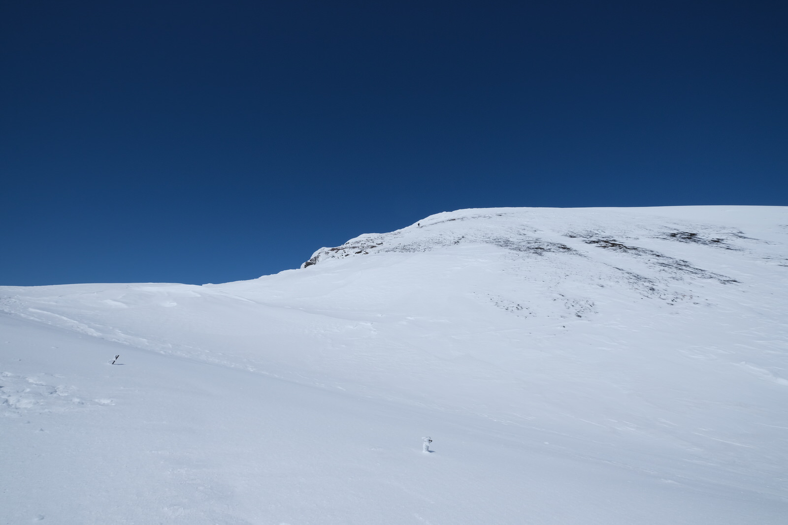 【残雪期・雪山登山】旭岳 (35)