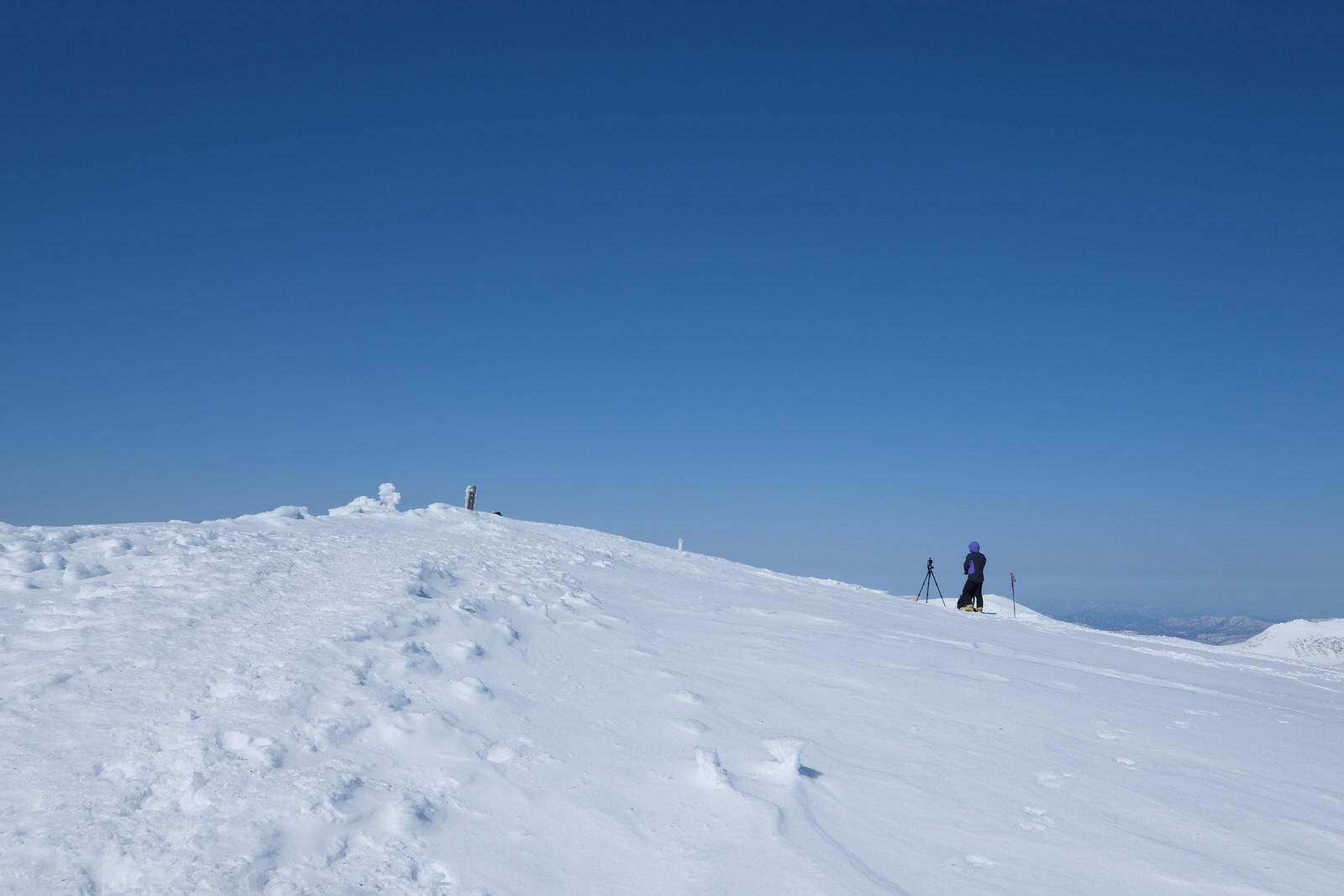 【残雪期・雪山登山】旭岳 (36)
