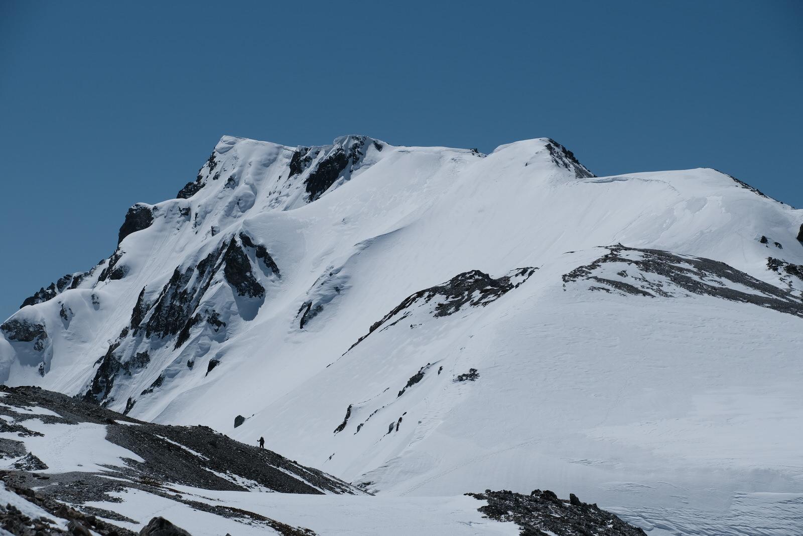 【厳冬期・雪山登山】白馬岳~完全氷結した白馬大池を越えて~