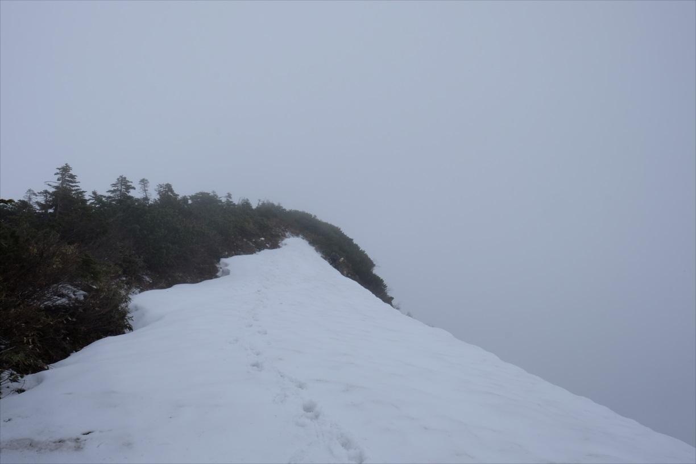 【残雪期・雪山登山】笠ヶ岳 (17)