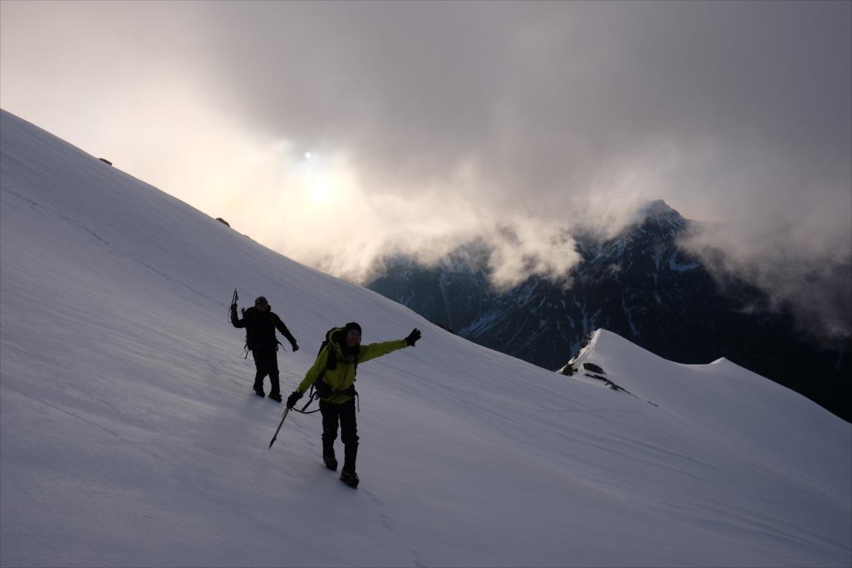 【残雪期・雪山登山】笠ヶ岳 (29)