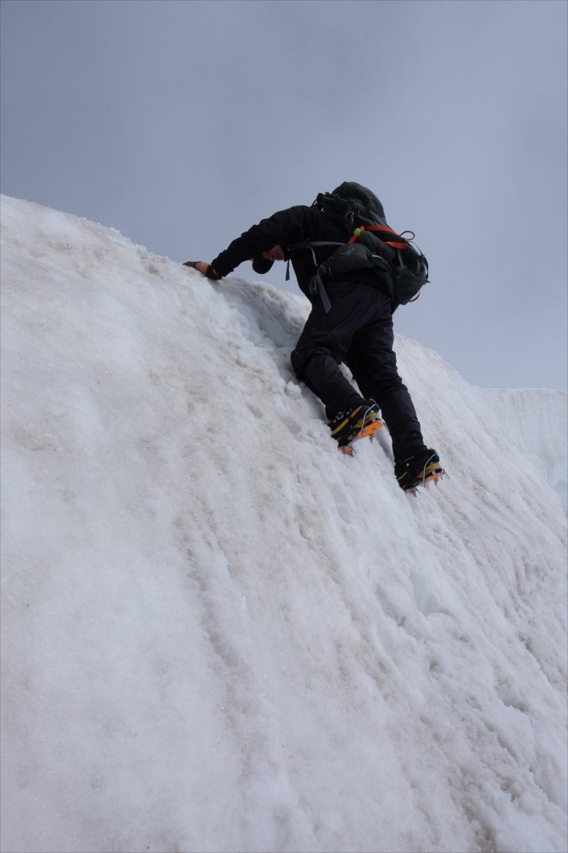 【残雪期・雪山登山】笠ヶ岳 (58)
