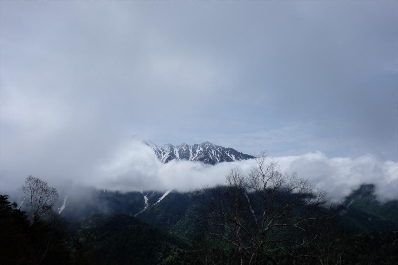 【残雪期・雪山登山】笠ヶ岳 (6)