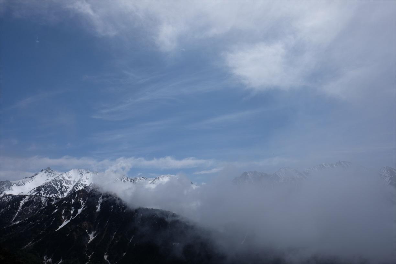 【残雪期・雪山登山】笠ヶ岳 (7)