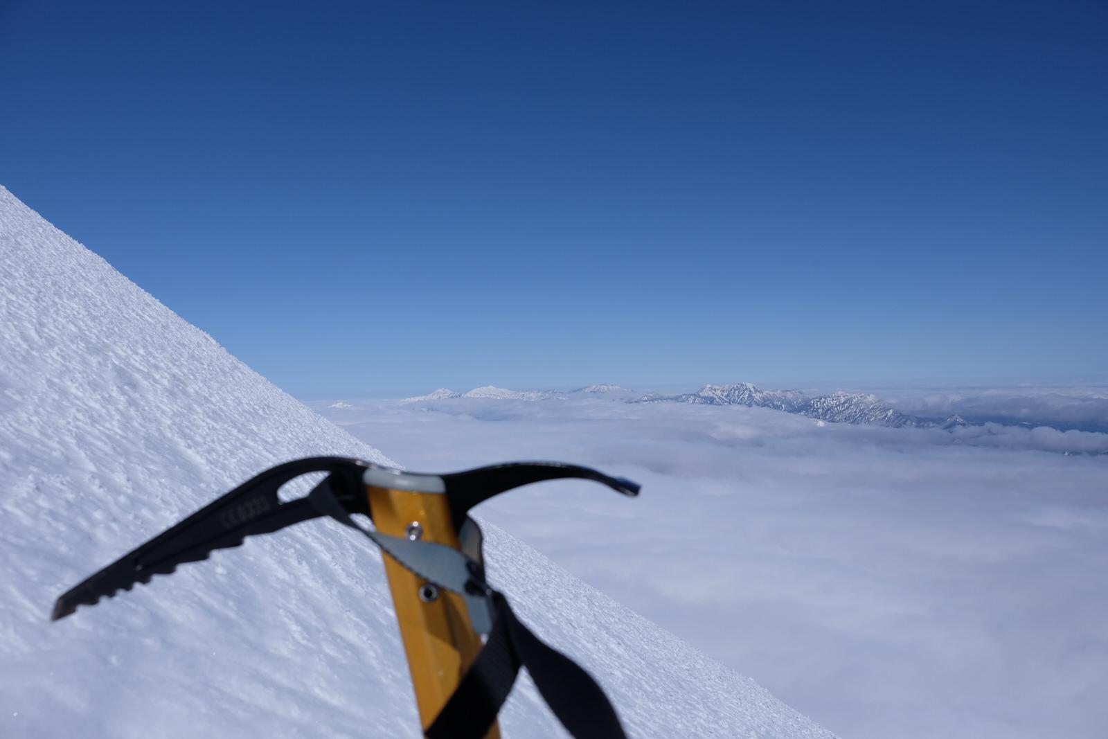 【雪山登山】ピッケルの選び方と、おすすめピッケルの紹介