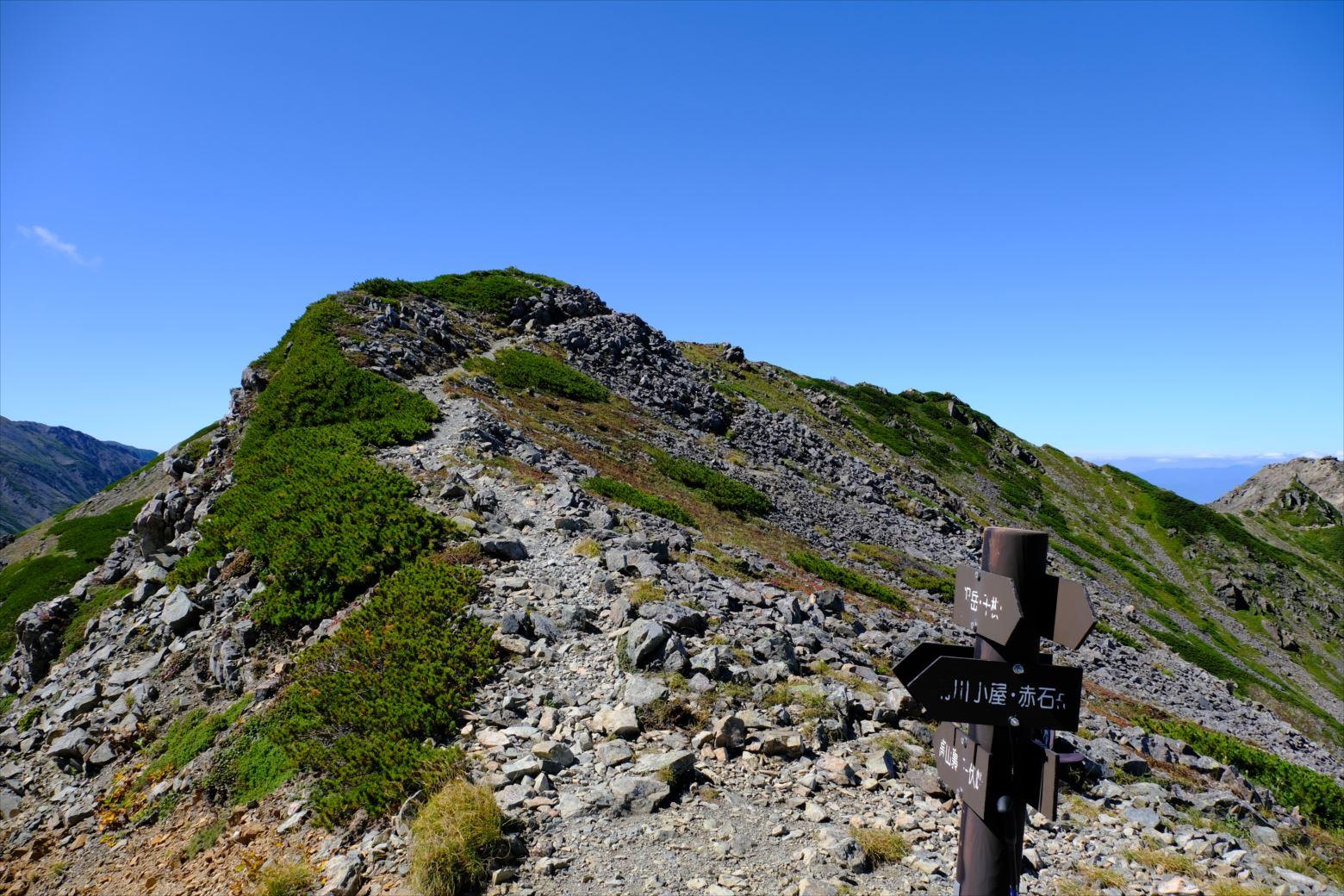 【秋山登山】赤石岳・荒川三山 (107)