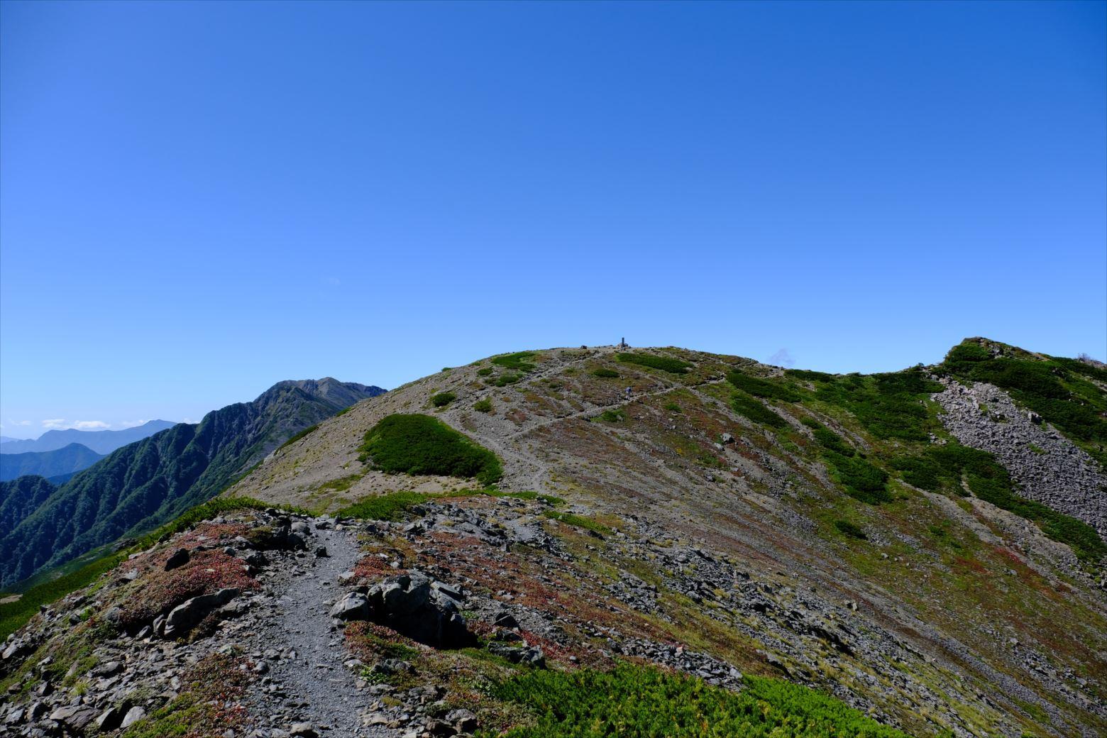 【秋山登山】赤石岳・荒川三山 (108)