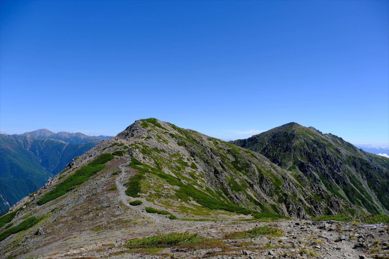 【秋山登山】赤石岳・荒川三山 (110)