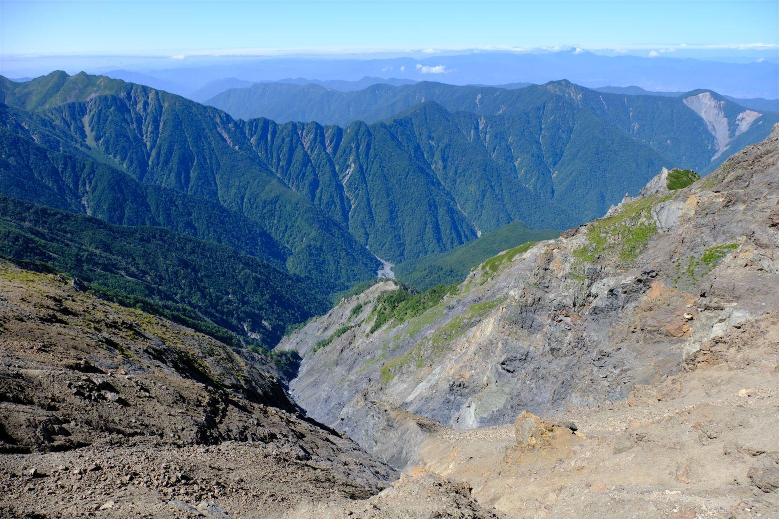 【秋山登山】赤石岳・荒川三山 (111)