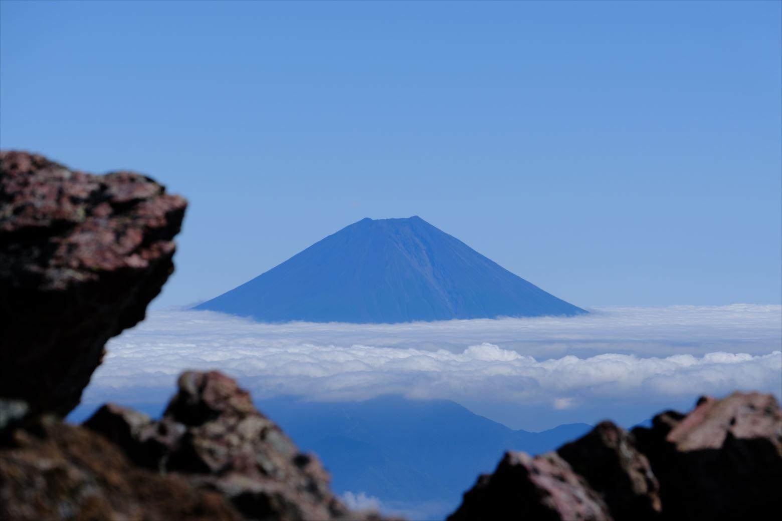 【秋山登山】赤石岳・荒川三山 (124)