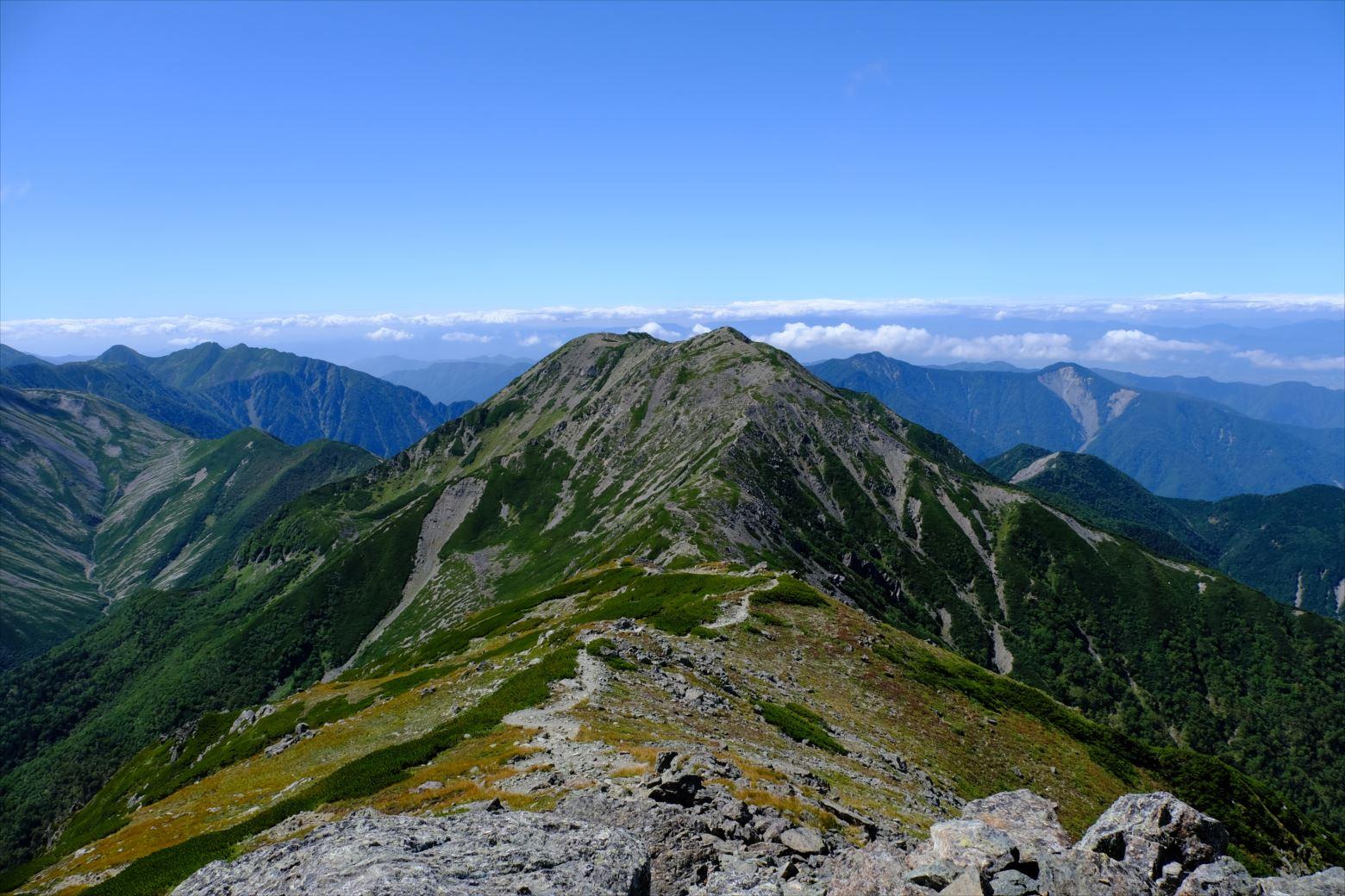 【秋山登山】赤石岳・荒川三山 (125)