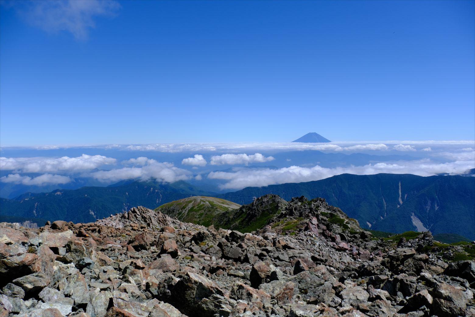 【秋山登山】赤石岳・荒川三山 (128)