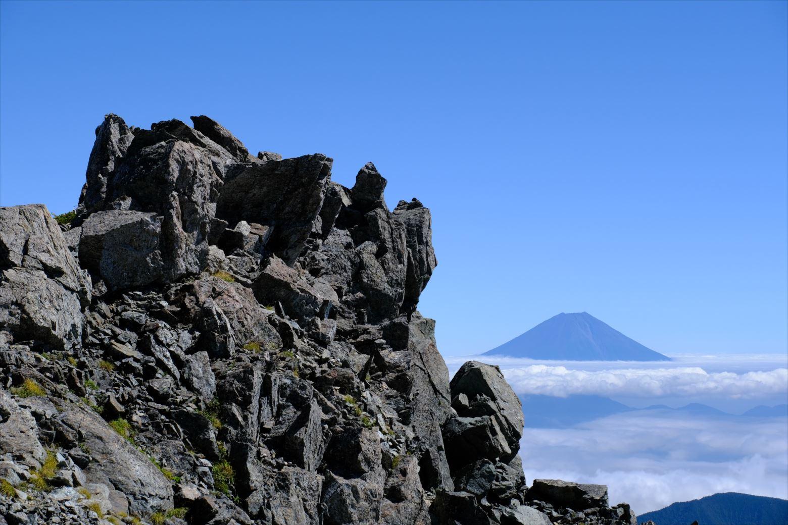 【秋山登山】赤石岳・荒川三山 (130)