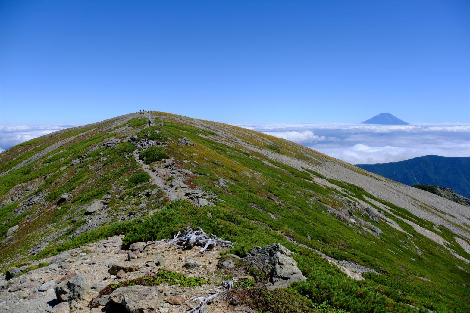【秋山登山】赤石岳・荒川三山 (133)