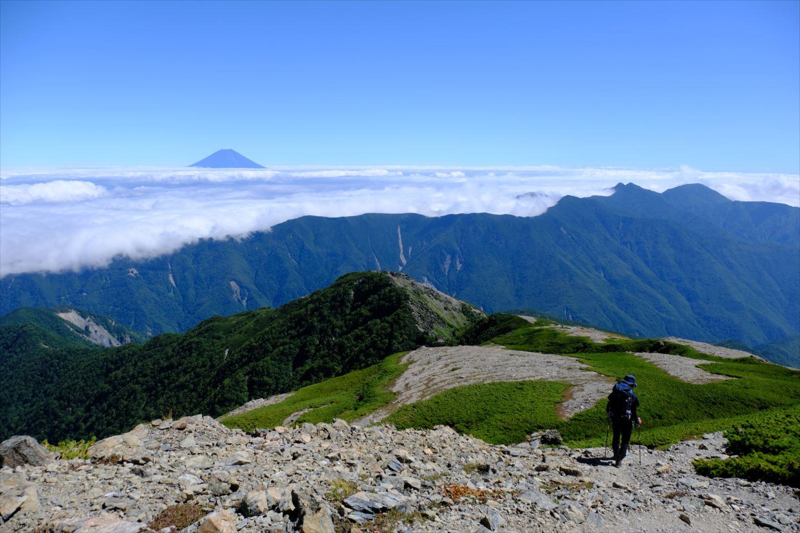 【秋山登山】赤石岳・荒川三山 (135)