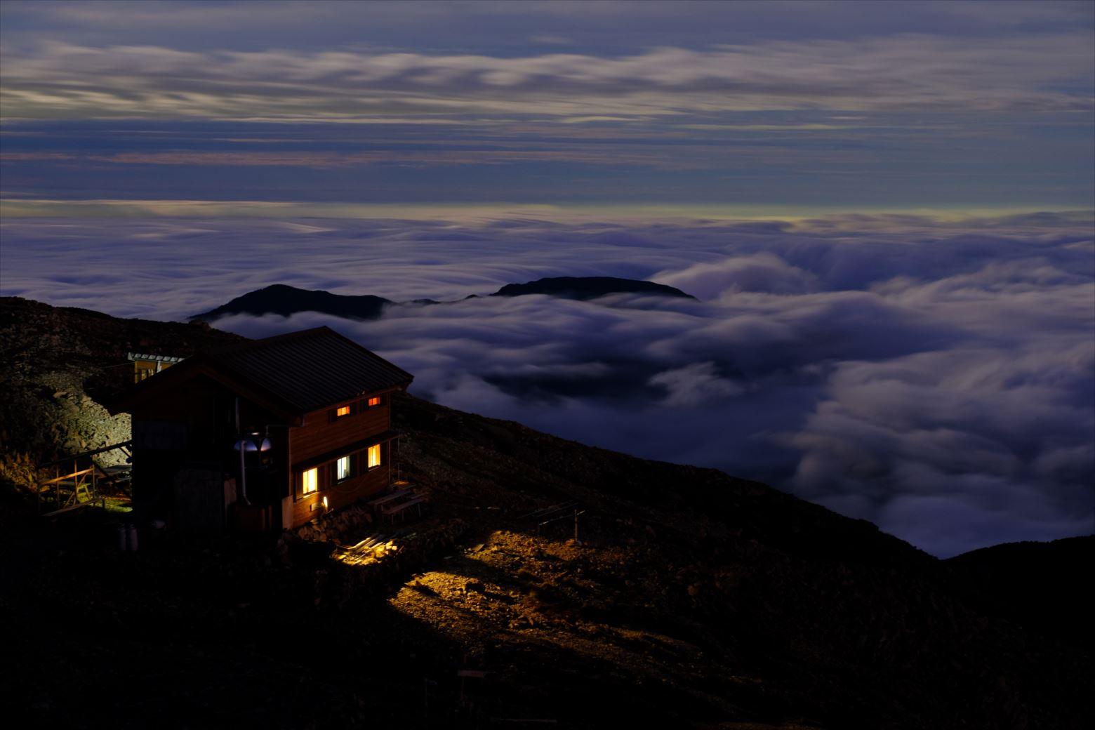 【秋山登山】赤石岳・荒川三山 (66)