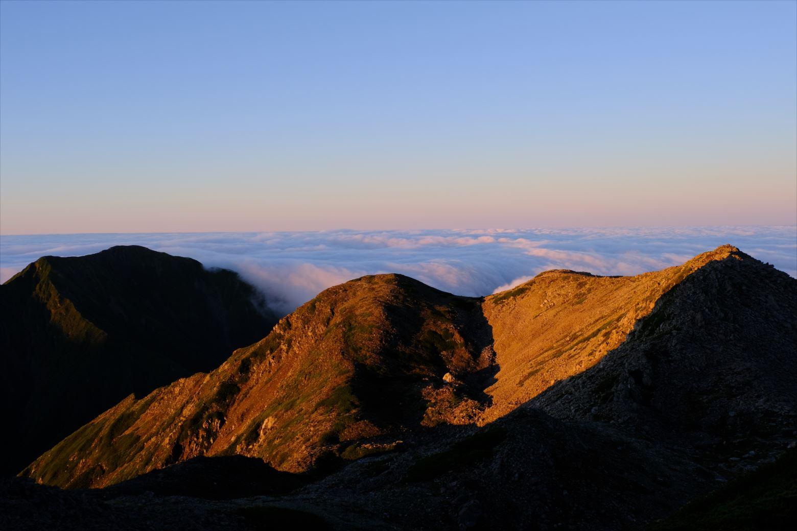 【秋山登山】赤石岳・荒川三山 (76)