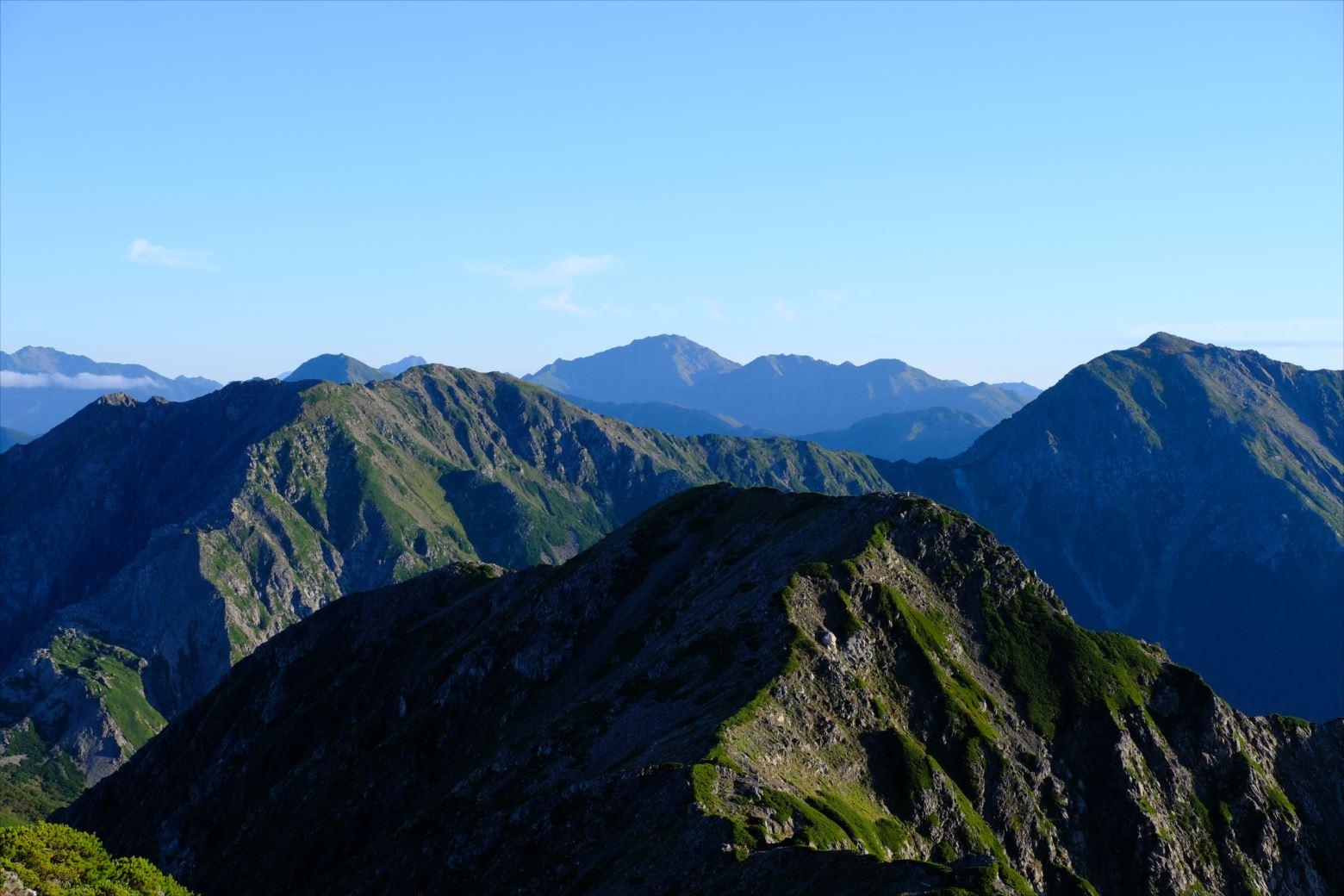 【秋山登山】赤石岳・荒川三山 (79)