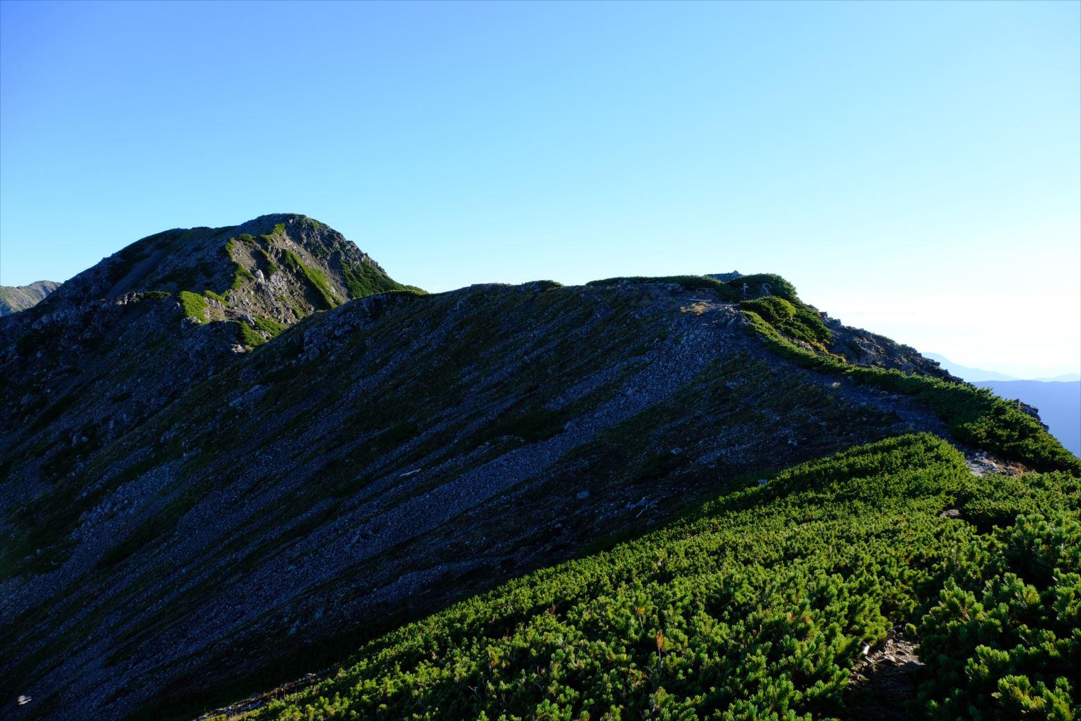 【秋山登山】赤石岳・荒川三山 (80)
