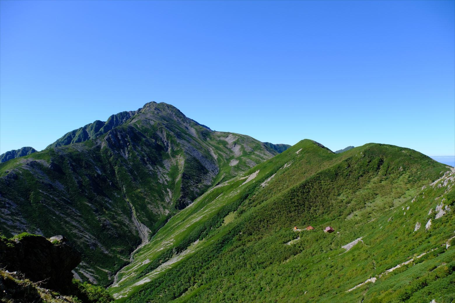 【秋山登山】赤石岳・荒川三山 (97)