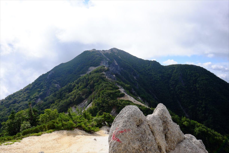 【秋山登山】鳳凰三山 (35)