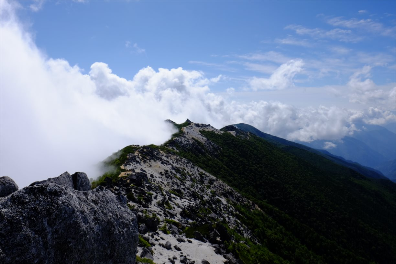 【秋山登山】鳳凰三山 (46)