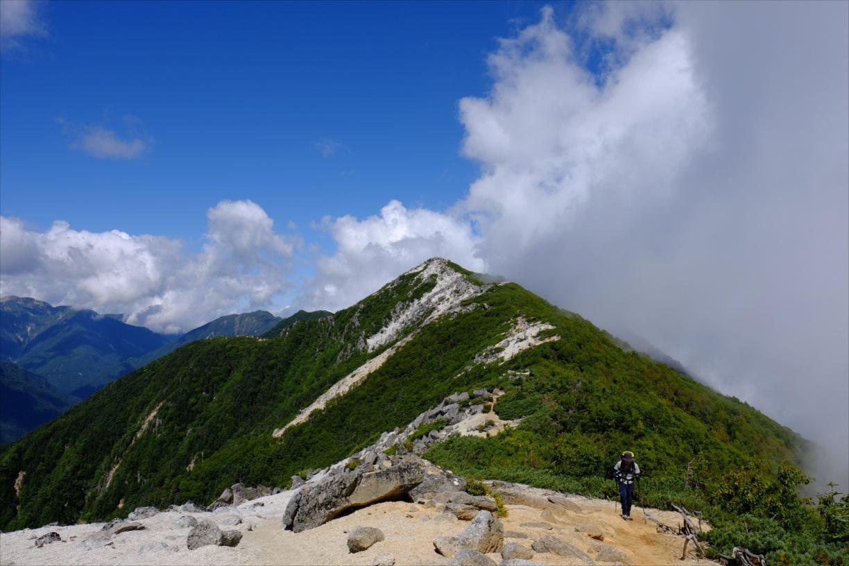 【秋山登山】鳳凰三山 (56)