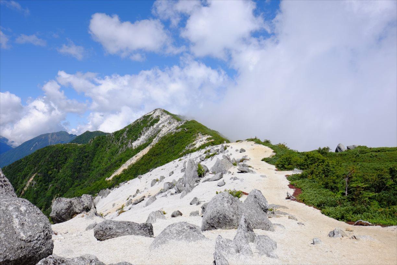 【秋山登山】鳳凰三山 (63)